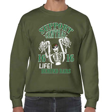 Life behind bars Support 16 Central Sweatshirt