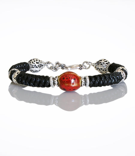 Red Willpower Bracelet (Unisex #451)