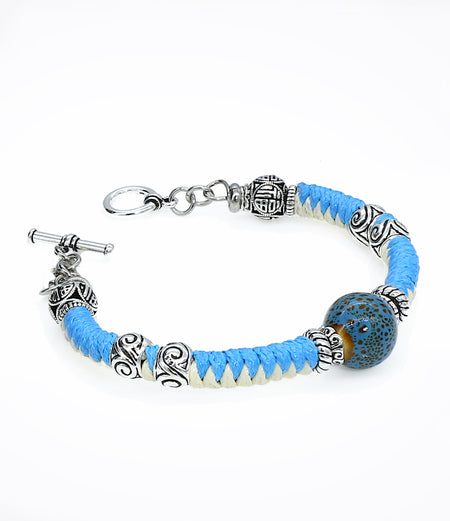 Blue Joy Bracelet (Unisex item #659)