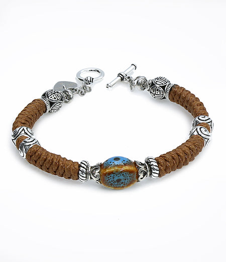 Sara Yo healing jewelry, created by a doctor, Metal energy bracelet, Item #663