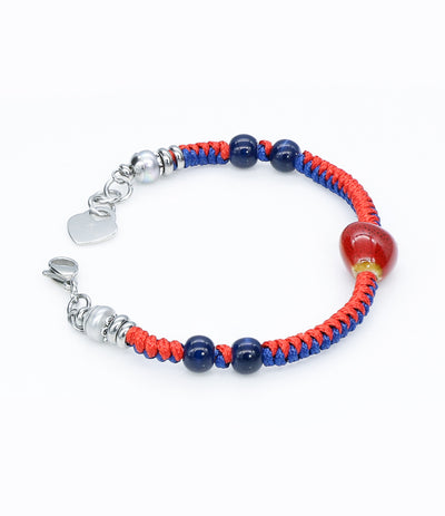 Sara Yo healing jewelry, created by a doctor, Fire energy bracelet item #755