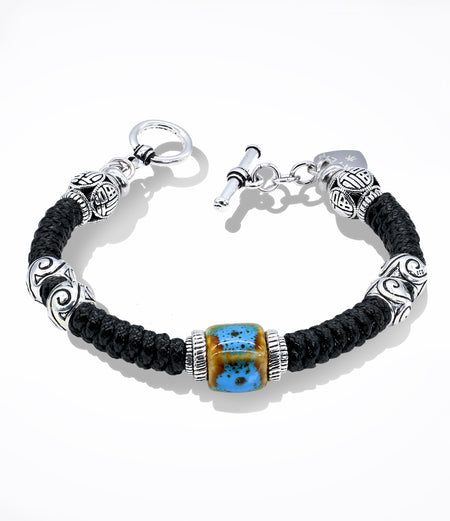 Sara Yo healing jewelry, created by a doctor, Water energy bracelet item #698