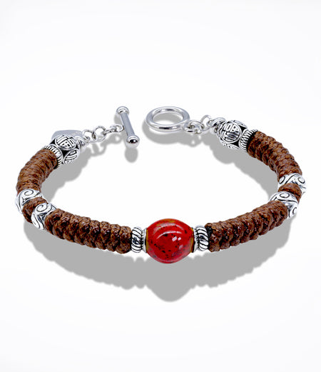 Red Joy Bracelet (Unisex item #712)