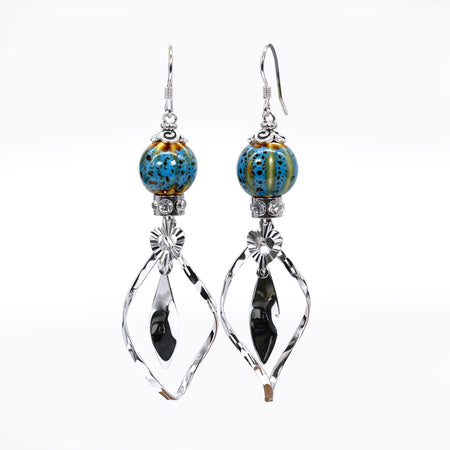 Sara Yo Ocean Ball Protection Earrings (Item #761)