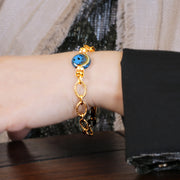 Blue Ocean Wave Bracelet (Item #782)