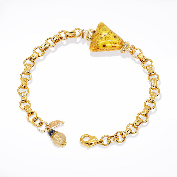 Golden Love Bracelet (Item #784)