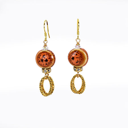 Lucky Sunset Earrings (Item #787)