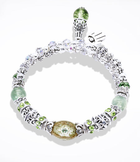 Moss Green Willpower Bracelet (Item #789)