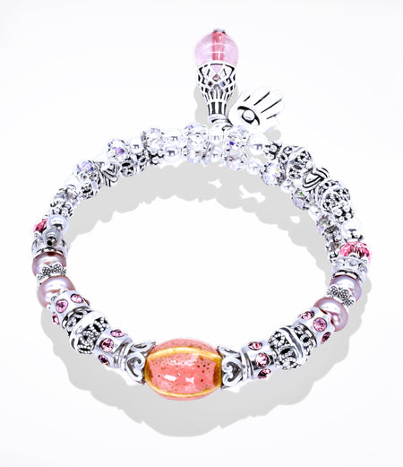 Pink Revive Willpower Bracelet (Item #798)