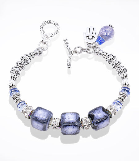 Sara Yo Healing Bracelet, created by a doctor, water energy, item #816