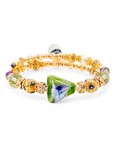 Sara Yo jewelry, Earth energy healing bracelet