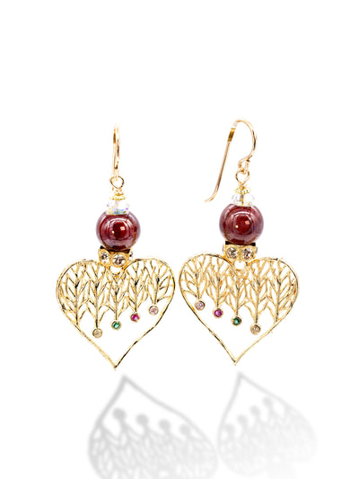 Sara Yo Protection Earrings provide spiritual protection