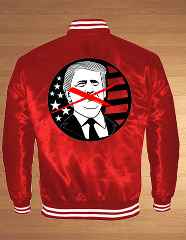 X Out Trump Bomber Jackets