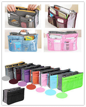 Dual Bag in Bag Organizer Model Korea Tas dalam tas