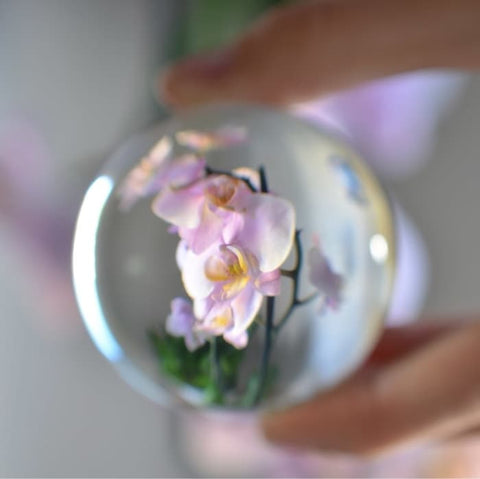 Lens Ball Crystal