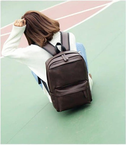 Leather Bagpack Import