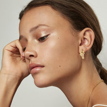 Load image into Gallery viewer, The Princess on the Pea Earrings • White zirconia