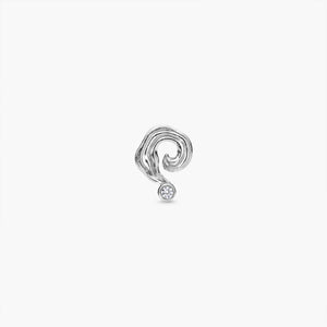 Spiral Galaxy Earring