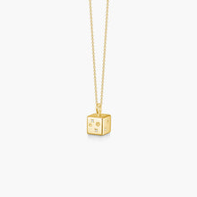 Load image into Gallery viewer, Polar Jewelry koyosegi necklace gold Polar Jewelry shop affordable fine jewelry gift for women jewellery joyful fun colourful scandinavian danish design shop now free delivery