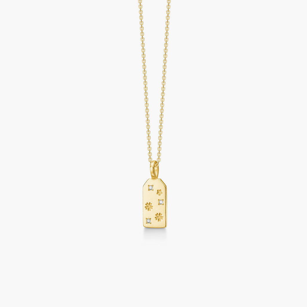 polar jewelry omamori flower necklace gold Polar Jewelry shop affordable fine jewelry gift for women jewellery joyful fun colourful scandinavian danish design shop now free delivery