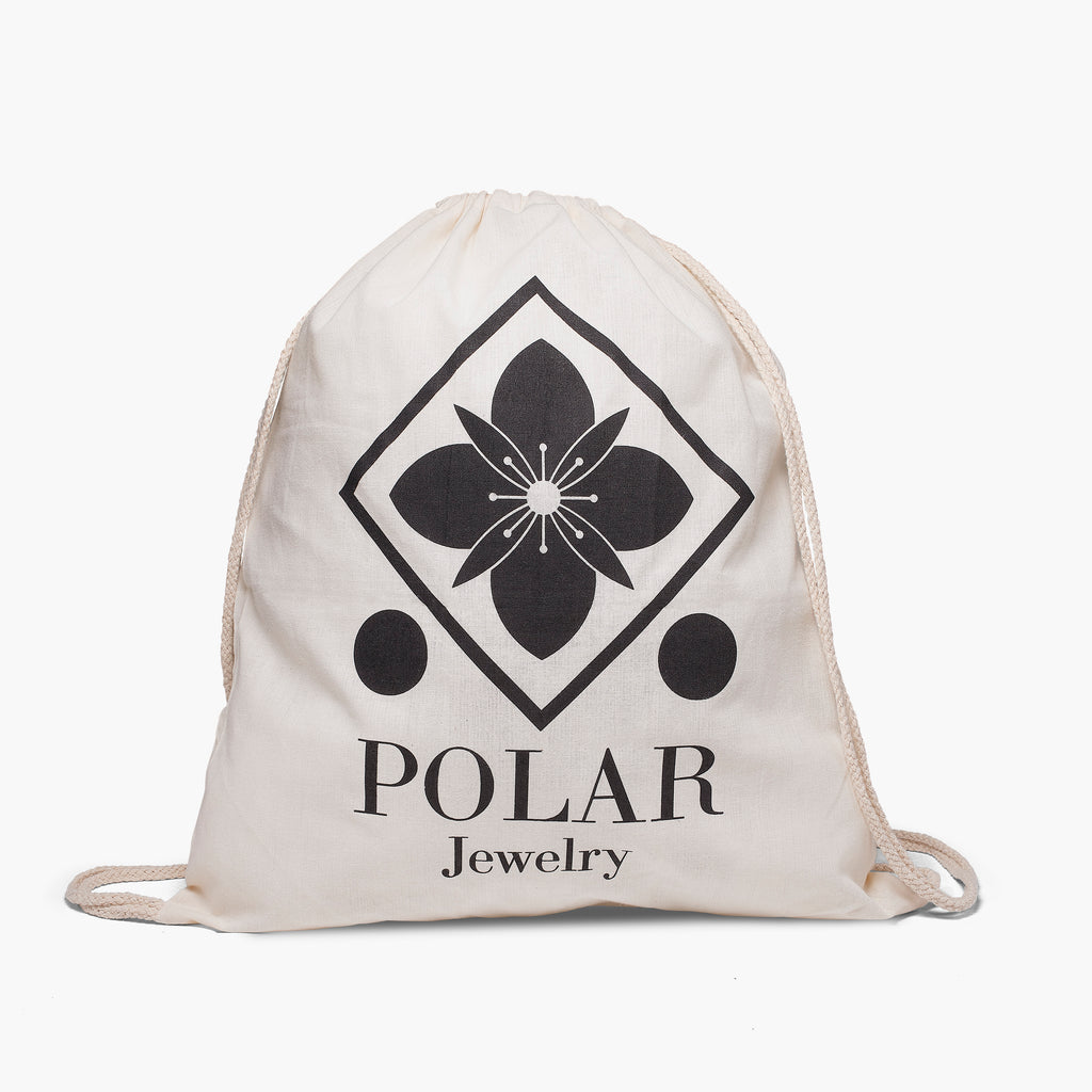 Polar Jewelry Cotton Bag