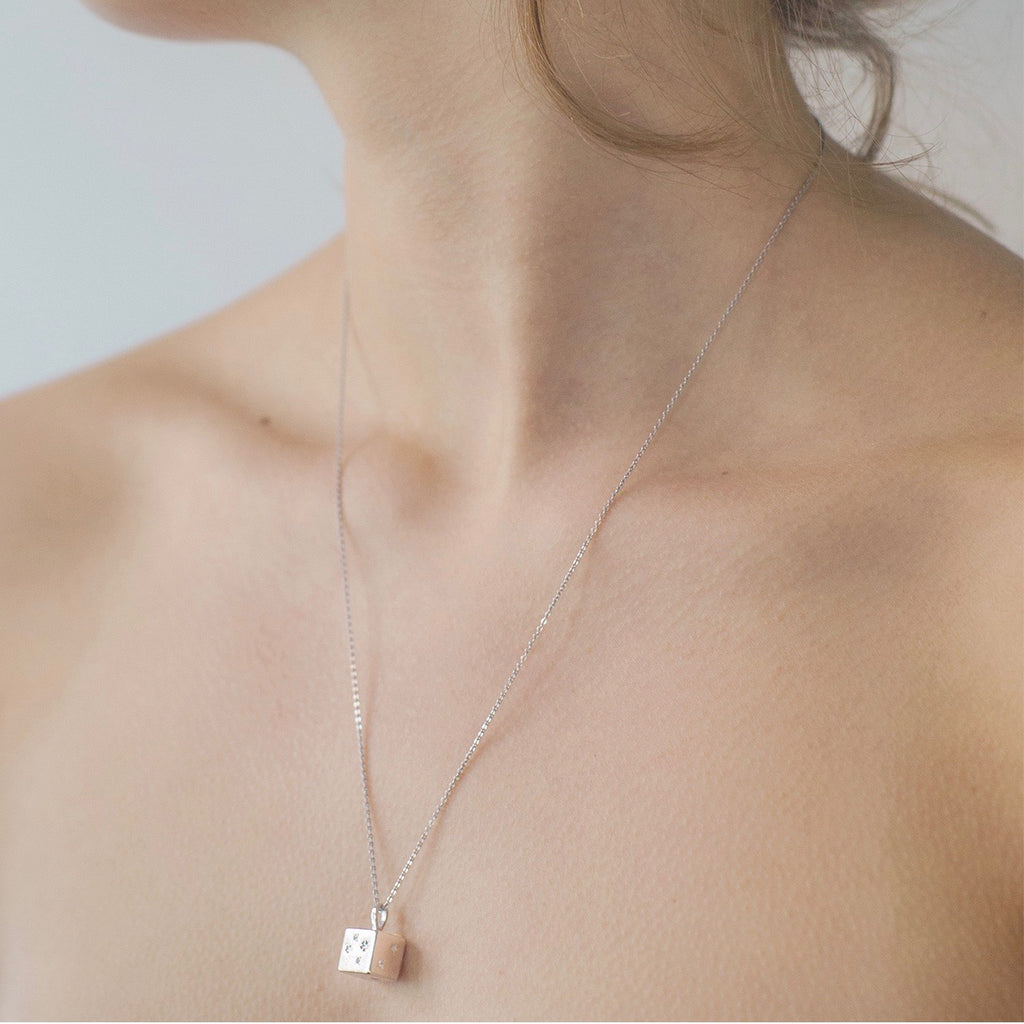 polar jewelry koyosegi necklace silver Polar Jewelry shop affordable fine jewelry gift for women jewellery joyful fun colourful scandinavian danish design shop now free delivery