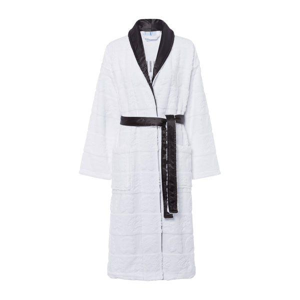 Bathrobe black