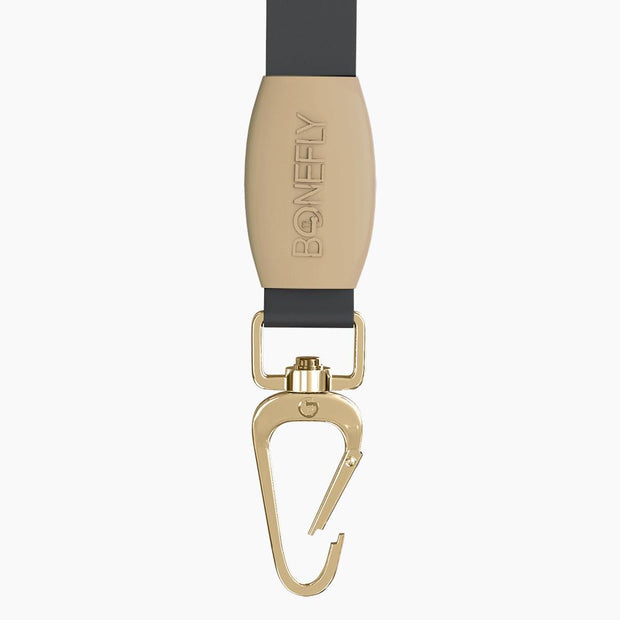 Beige Swarovski Leash