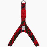 Camo Red Swarovski Harness