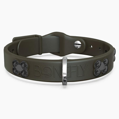 Black Matte Bone Collar