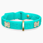 Teal Swarovski Collar