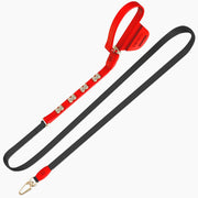 Red Swarovski Leash