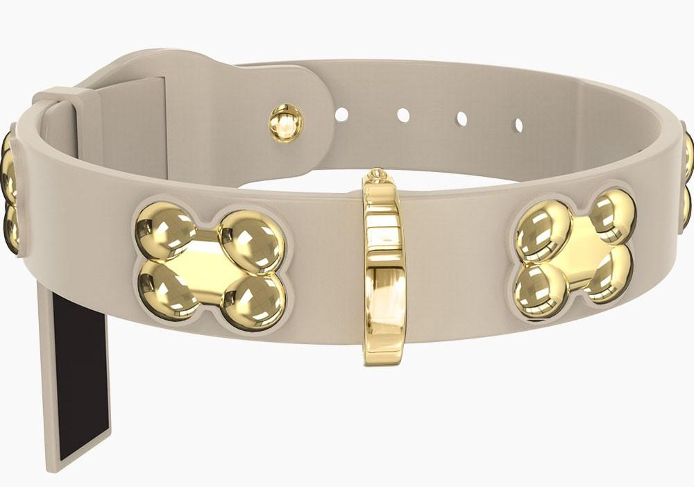 GOLD BONE COLLARS