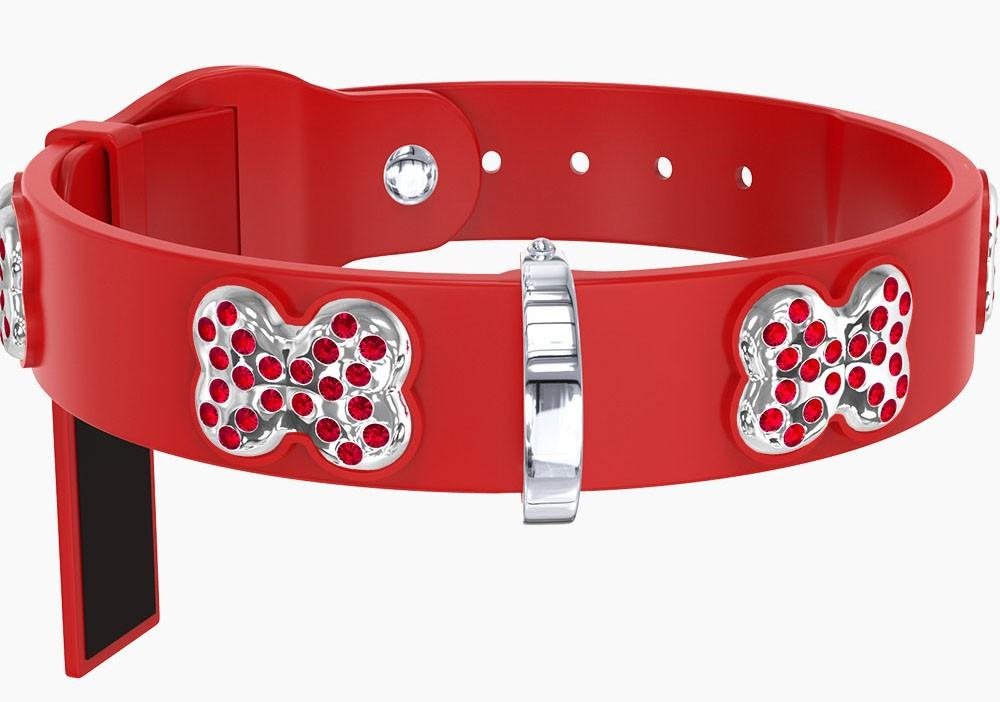 RED SWAROVSKI COLLARS