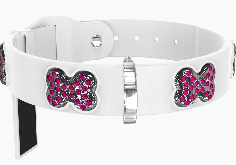 WHITE SWAROVSKI COLLARS