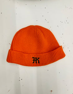 Hardkour Performance - Short Skater Ribbed Knit Cuffed Beanie