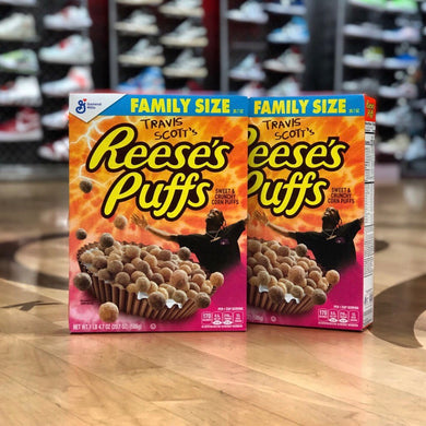 Travis Scott x General Mills - Reese's Puffs Cereal (2019) - Special Edition - Family Size - KICKS 'N' STEEZ