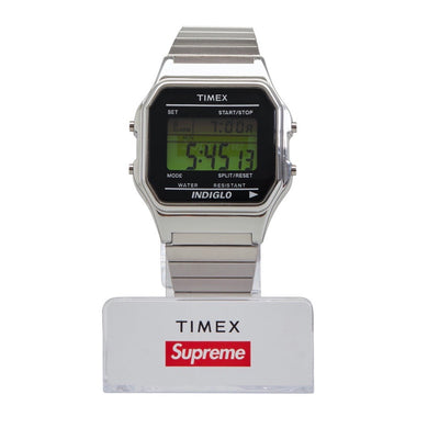 KNS INVEST: Supreme / Timex - Digital Watch - Silver