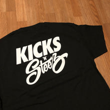 Kicks 'N' Steez - Back Print Tee - KICKS 'N' STEEZ