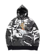 "Icy Rabbit - ""Skater"" Hoodie - Camo - Medium - KICKS 'N' STEEZ"