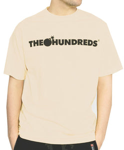 The Hundreds - Forever Bar Tee - Nude - Medium - KICKS 'N' STEEZ