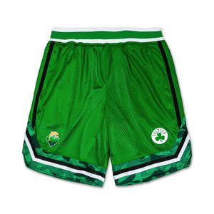 Pink Dolphin x NBA - Mesh Shorts - Boston Celtics - XL