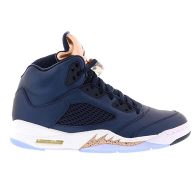 Air Jordan - Retro 5s - Bronze - sz 8 Mens - KICKS 'N' STEEZ