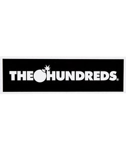 The Hundreds - Bar Logo Sticker - KICKS 'N' STEEZ