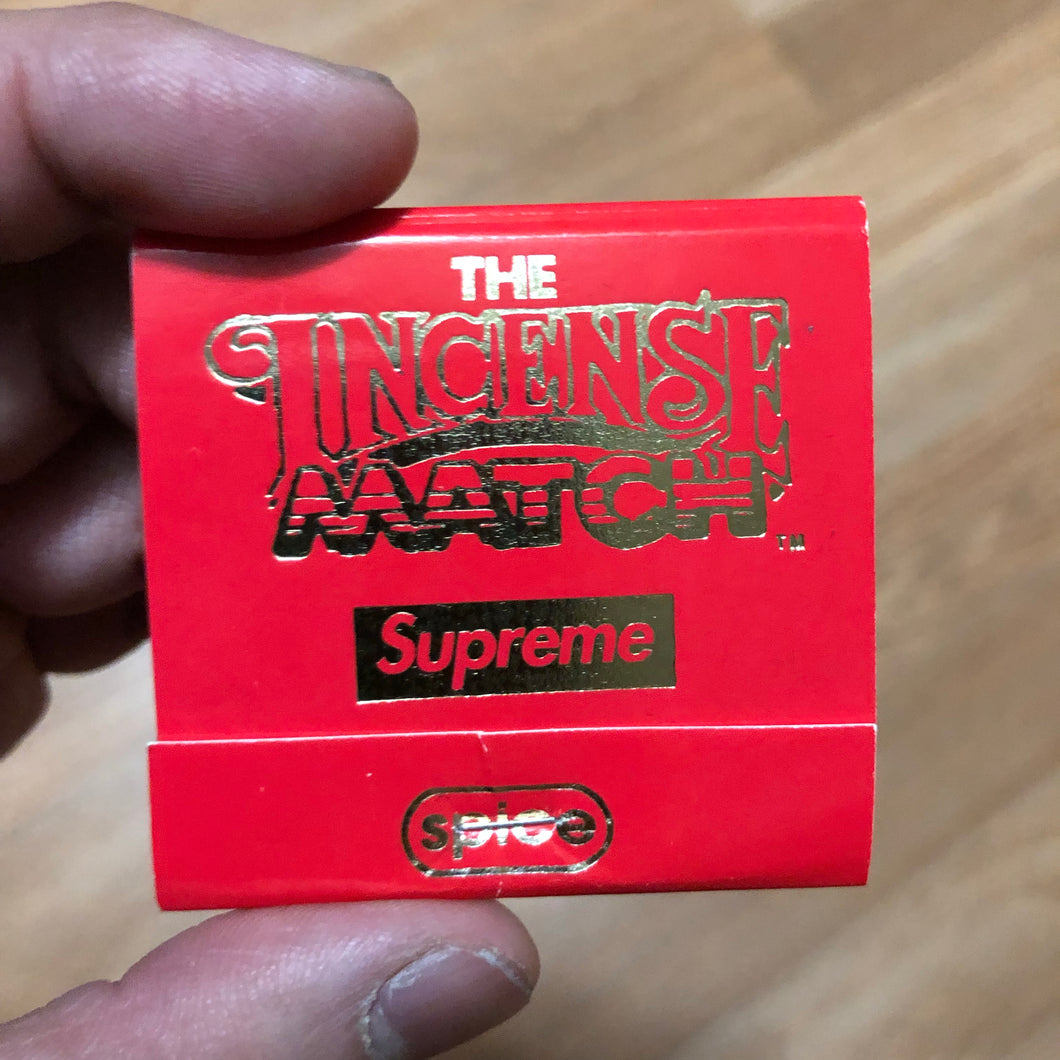 Supreme - Incense Matches (SS17) - Red - KICKS 'N' STEEZ