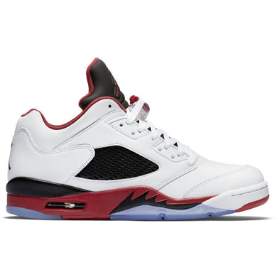 Air Jordan - Retro 5 Low - Fire Red (2016) GS - 7y / 7 Mens - KICKS 'N' STEEZ