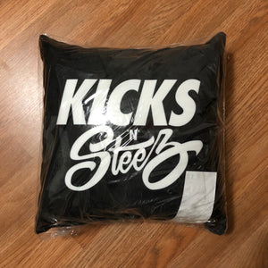 KNS - Throw Pillow - KICKS 'N' STEEZ