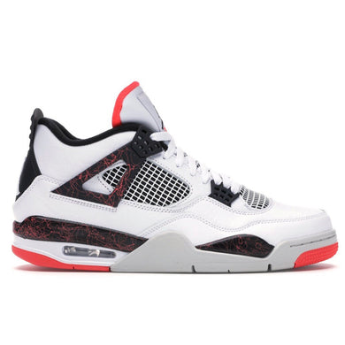 "Air Jordan - Retro 4 - ""Flight Nalstagia / Pale Citron"" (2019) - 8 Mens - KICKS 'N' STEEZ"