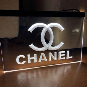 MADE TO ORDER: Custom Neon Sign - Chanel - KICKS 'N' STEEZ