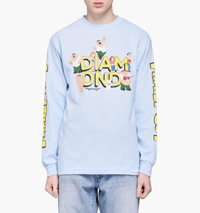 Diamond Supply - Family Guy L/S Tee - Medium - KICKS 'N' STEEZ